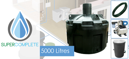 5000 Litre SuperComplete System