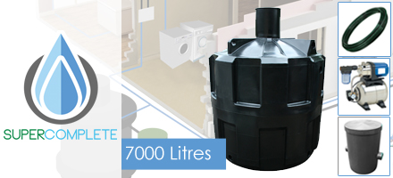 7000 Litre SuperComplete System